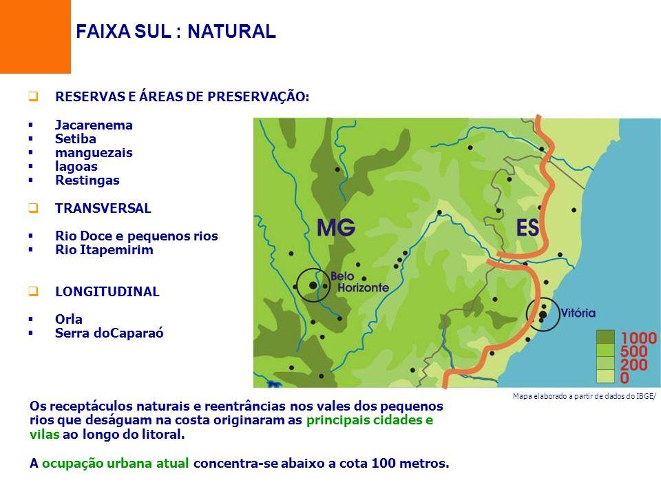 FAIXA SUL : NATURAL RESERVAS E ÁREAS DE PRESERVAÇÃO: Jacarenema Setiba