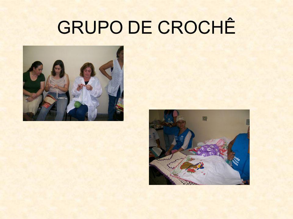 GRUPO DE CROCHÊ
