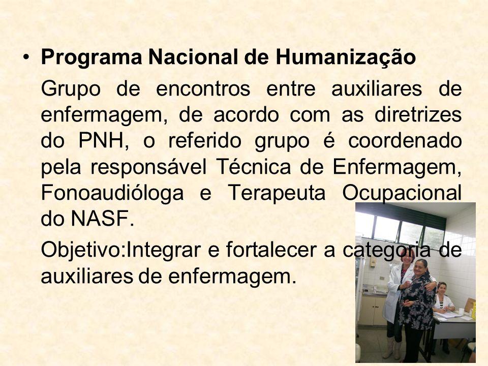 Programa Nacional de Humanização