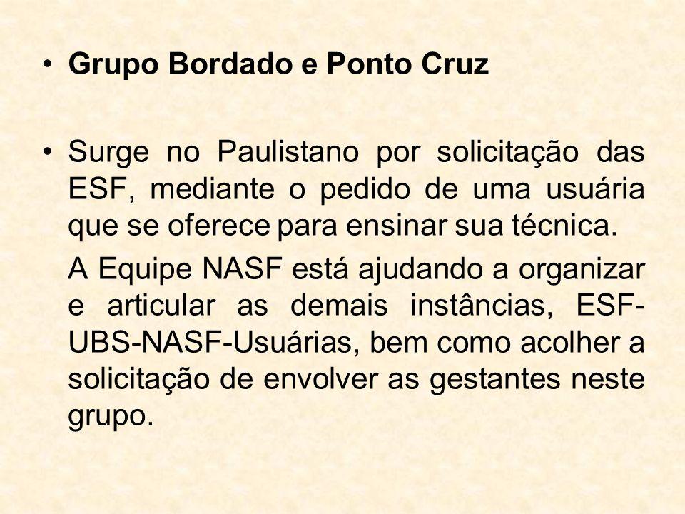 Grupo Bordado e Ponto Cruz