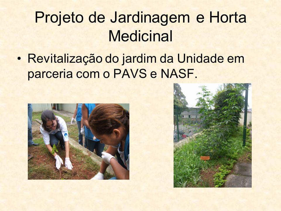 Projeto de Jardinagem e Horta Medicinal