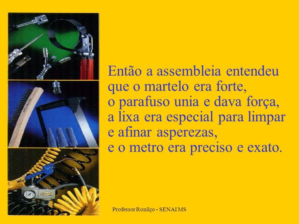 Professor Ronilço - SENAI MS