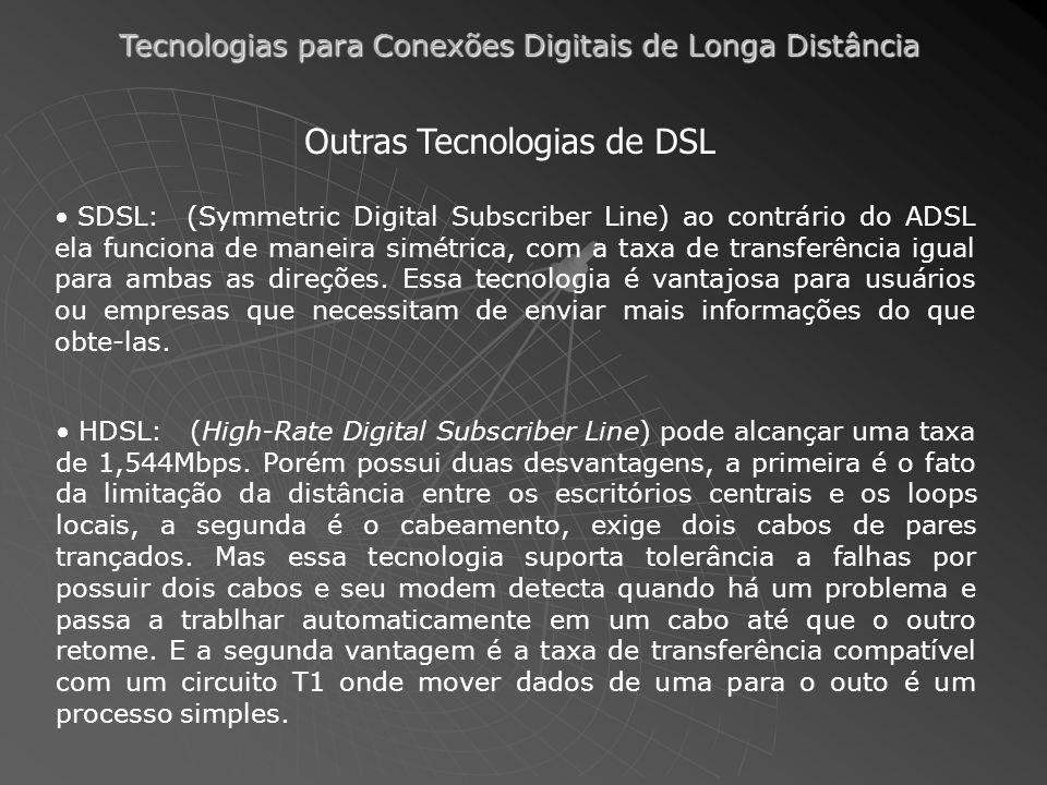 Outras Tecnologias de DSL