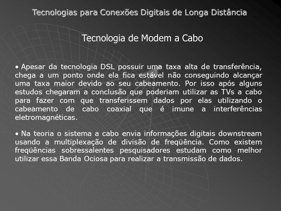 Tecnologia de Modem a Cabo