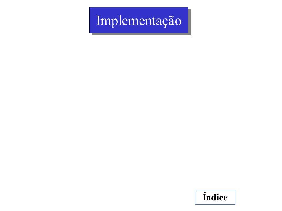 Implementação Índice
