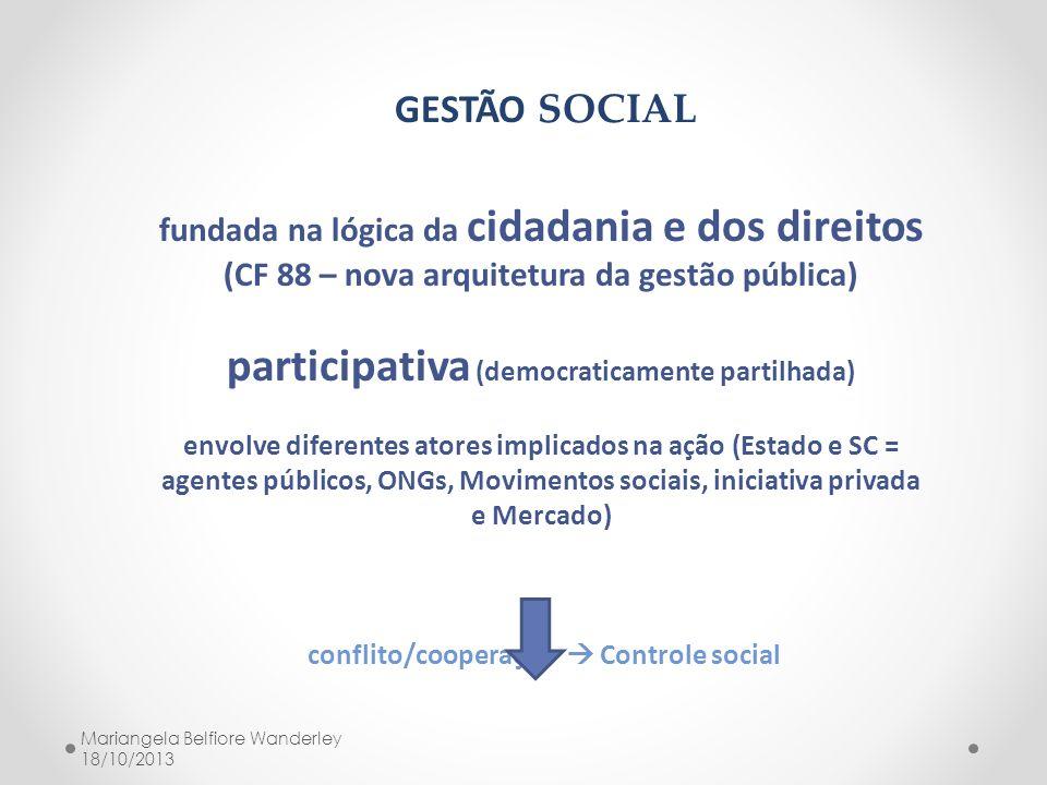 participativa (democraticamente partilhada)