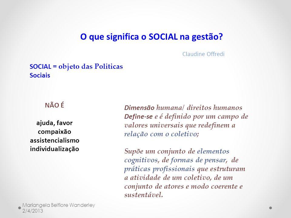O que significa o SOCIAL na gestão