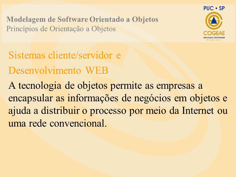 Sistemas cliente/servidor e Desenvolvimento WEB