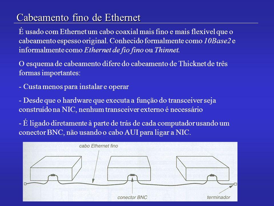 Cabeamento fino de Ethernet