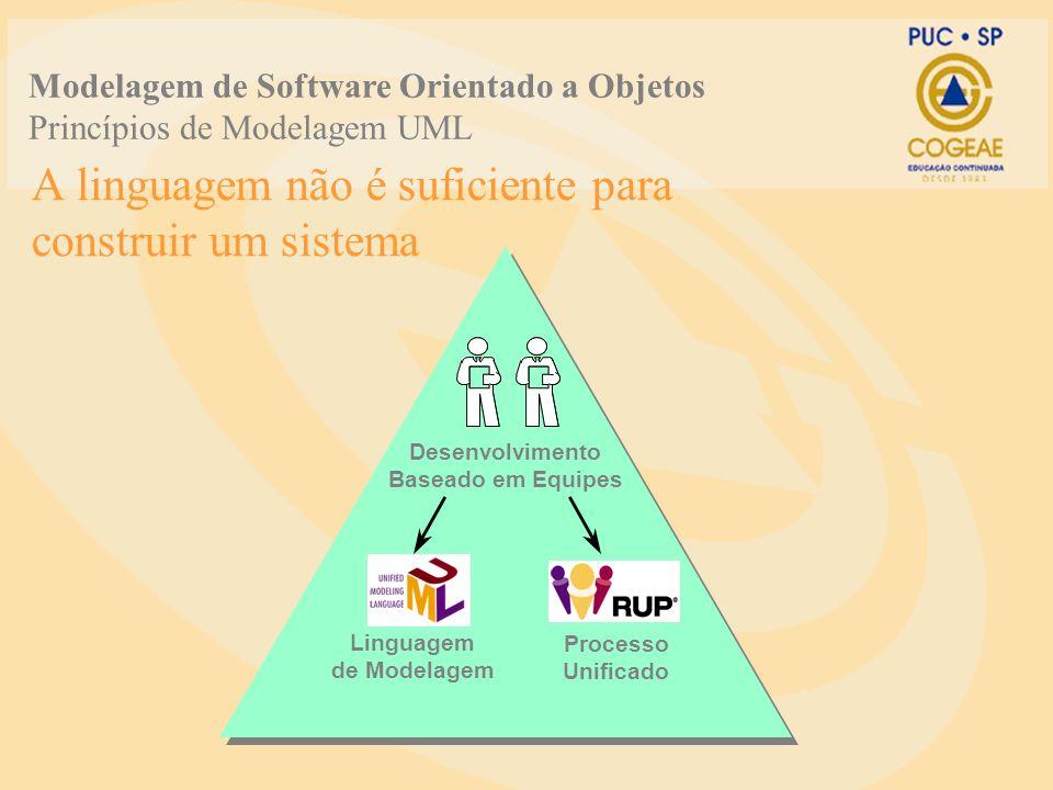 A linguagem não é suficiente para construir um sistema