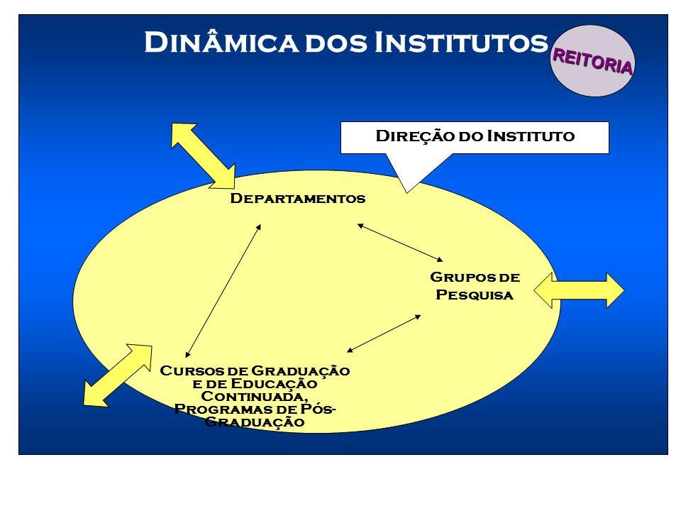 Dinâmica dos Institutos