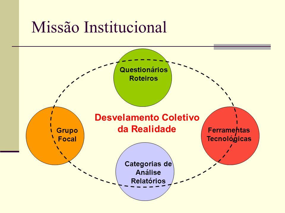 Missão Institucional Desvelamento Coletivo da Realidade