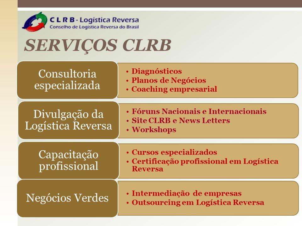 SERVIÇOS CLRB Fóruns Nacionais e Internacionais