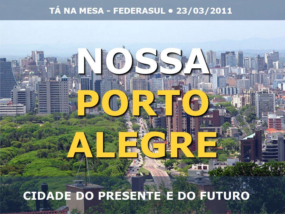 NOSSA PORTO ALEGRE CIDADE DO PRESENTE E DO FUTURO