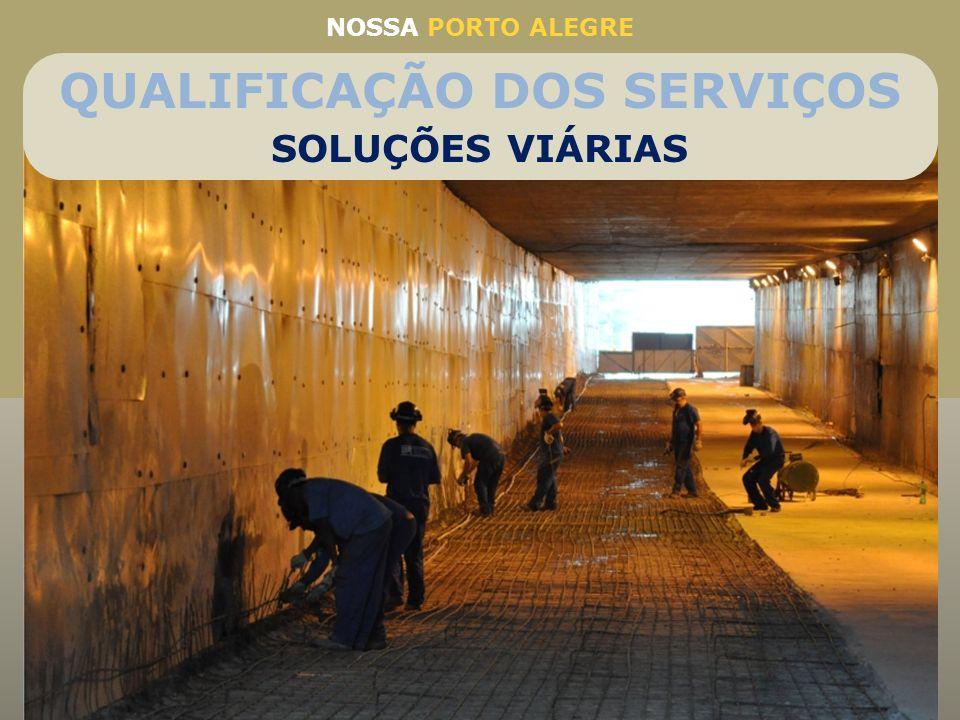QUALIFICAÇÃO DOS SERVIÇOS Reforma estrutural do Túnel da Conceição