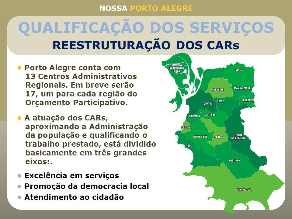 QUALIFICAÇÃO DOS SERVIÇOS REESTRUTURAÇÃO DOS CARs