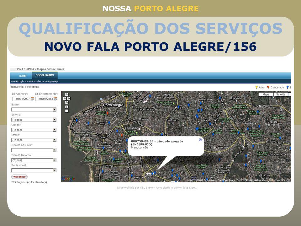 QUALIFICAÇÃO DOS SERVIÇOS NOVO FALA PORTO ALEGRE/156