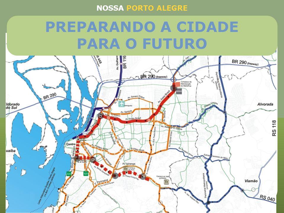 PREPARANDO A CIDADE PARA O FUTURO