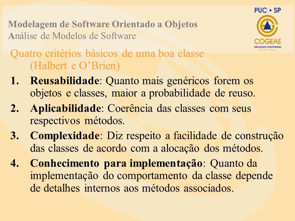 Quatro critérios básicos de uma boa classe (Halbert e O'Brien)