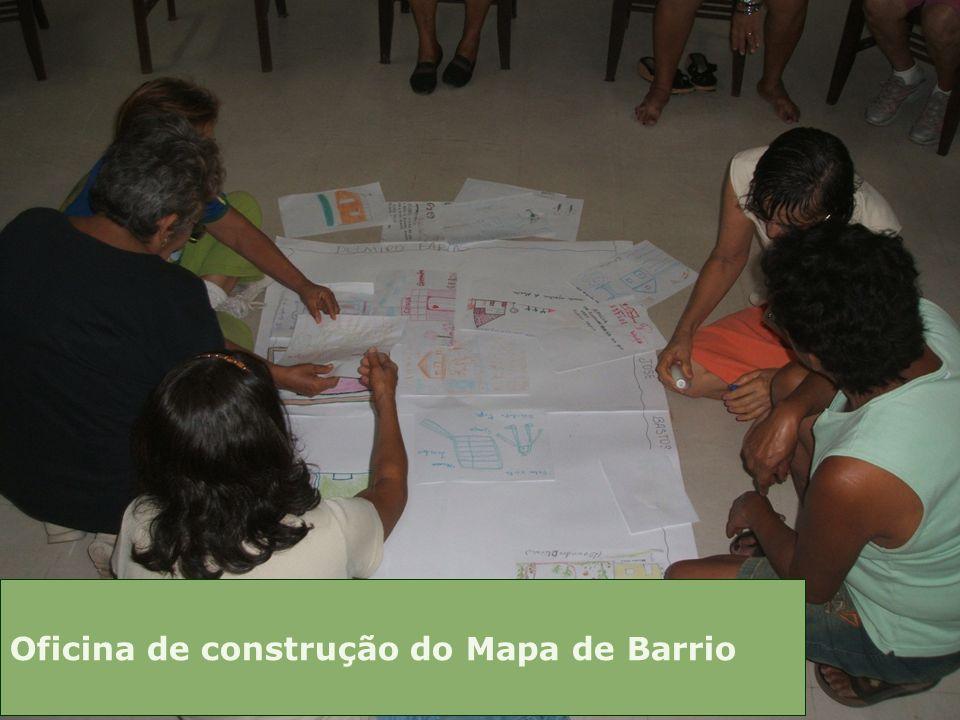 Oficina de construção do Mapa de Barrio