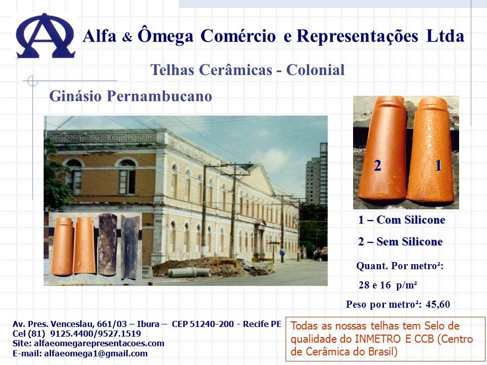 Telhas Cerâmicas - Colonial