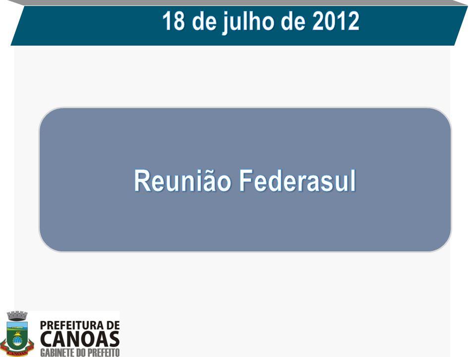 18 de julho de 2012 Reunião Federasul
