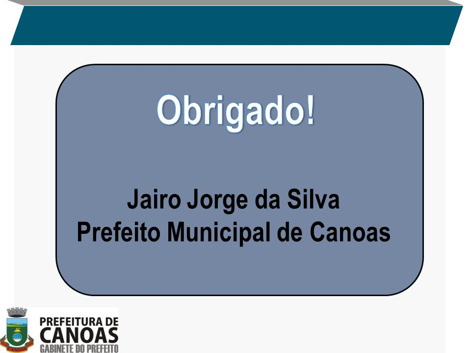 Prefeito Municipal de Canoas