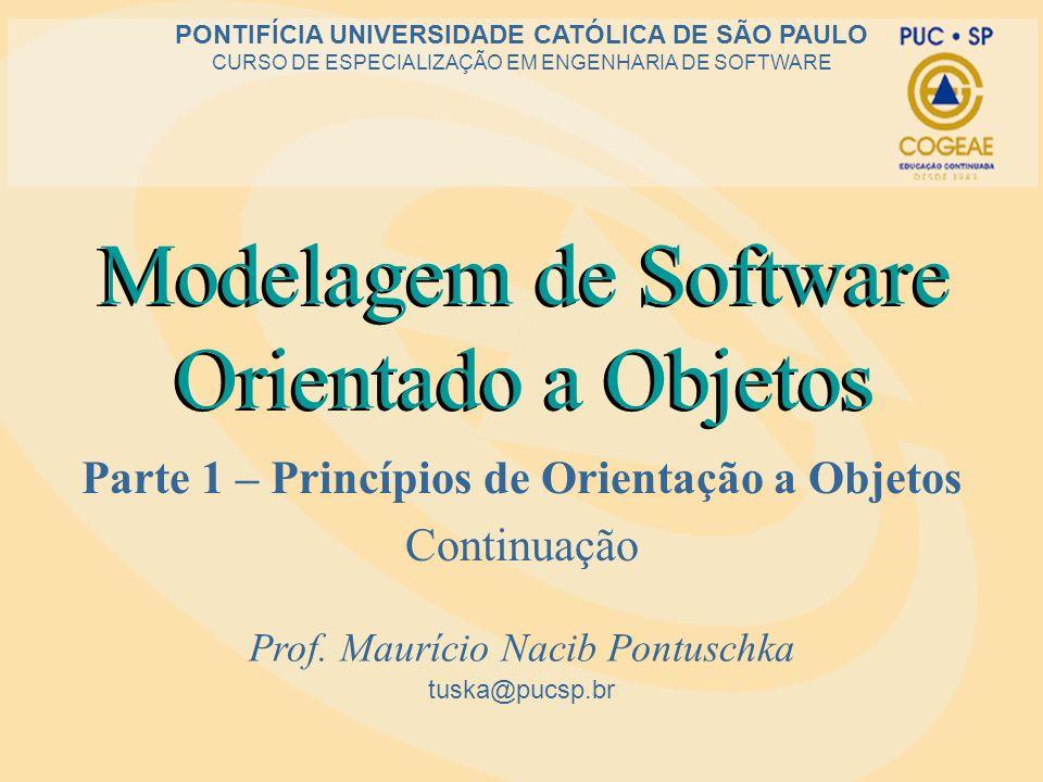 Modelagem de Software Orientado a Objetos