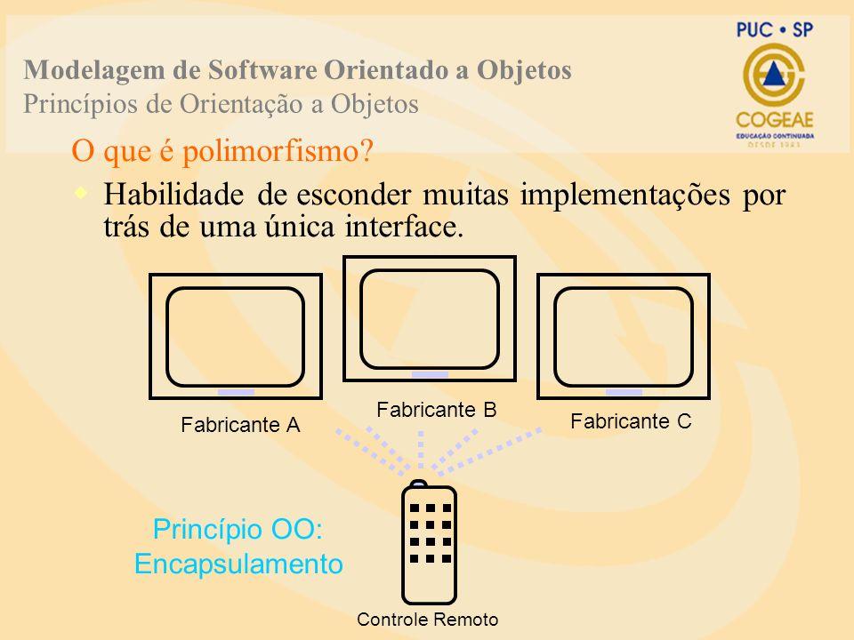 Princípio OO: Encapsulamento
