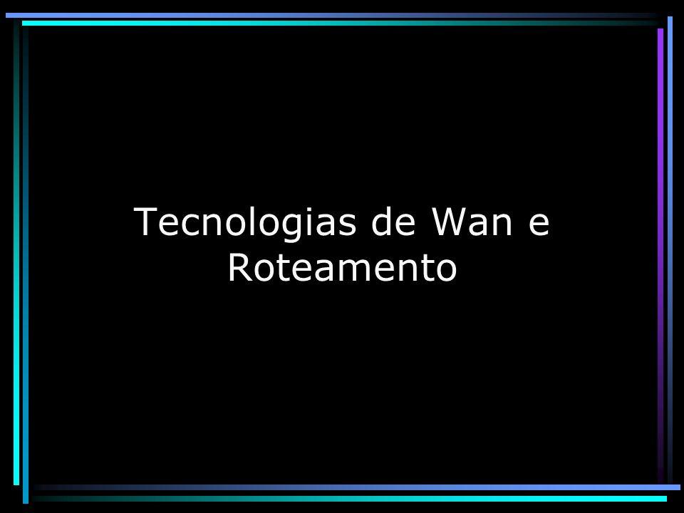 Tecnologias de Wan e Roteamento