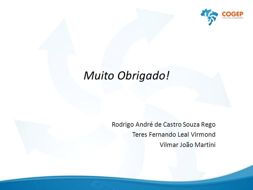 Muito Obrigado! Rodrigo André de Castro Souza Rego