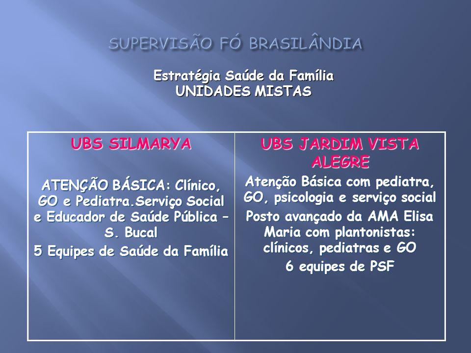 SUPERVISÃO FÓ BRASILÂNDIA