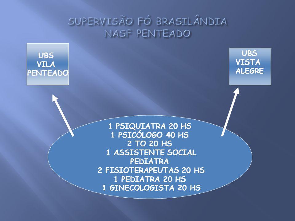 SUPERVISÃO FÓ BRASILÂNDIA NASF PENTEADO
