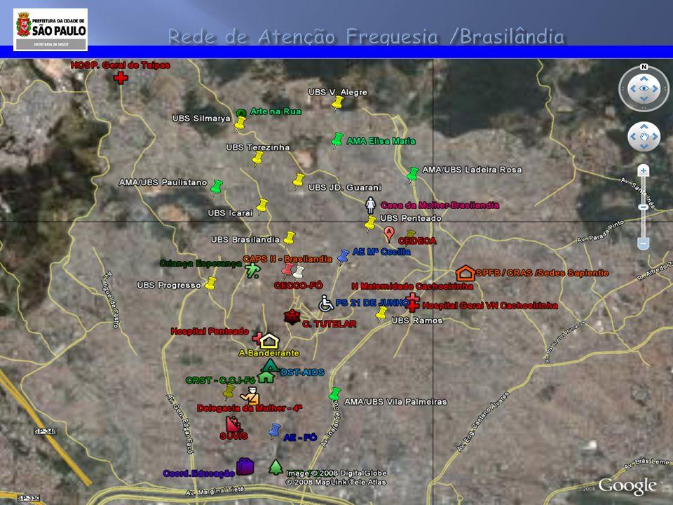 Rede de Atenção Freguesia /Brasilândia