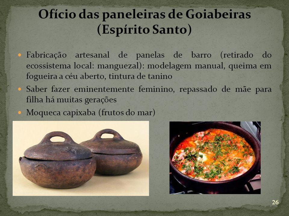 Ofício das paneleiras de Goiabeiras (Espírito Santo)