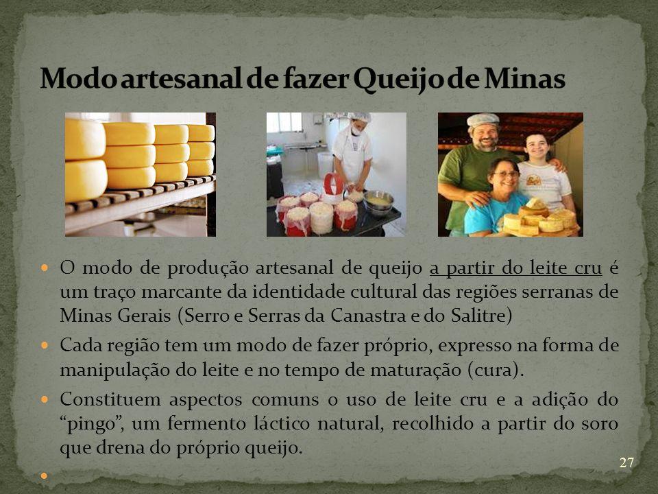 Modo artesanal de fazer Queijo de Minas