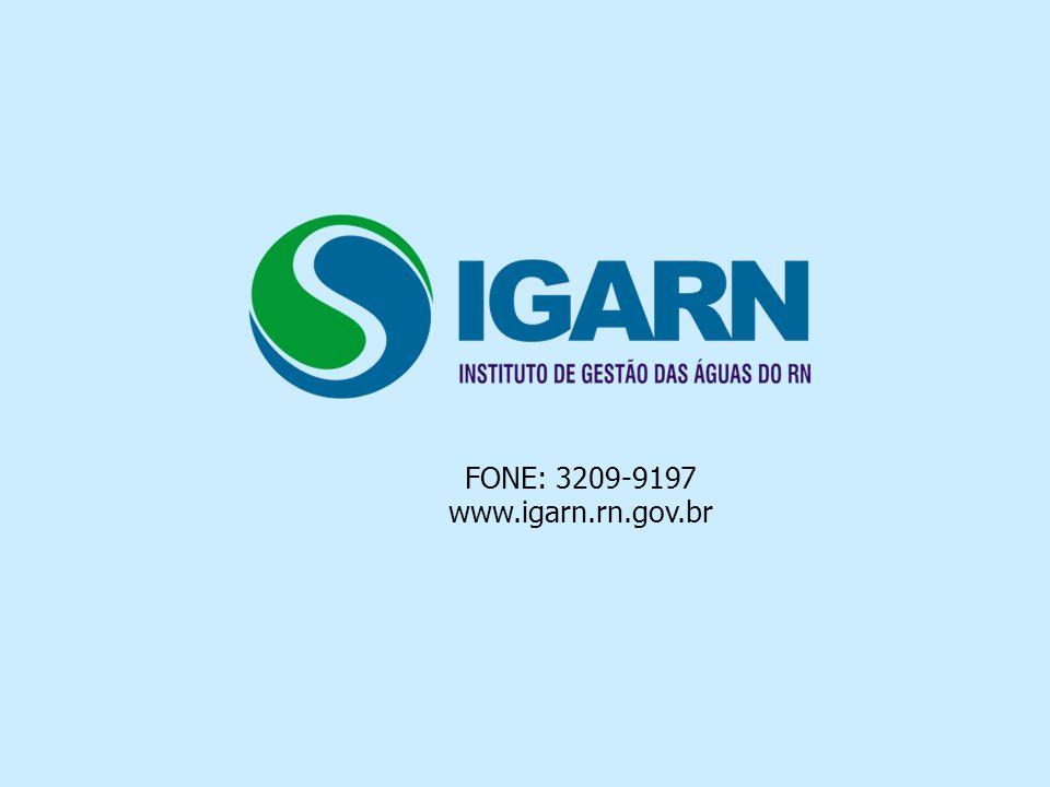 FONE: 3209-9197 www.igarn.rn.gov.br
