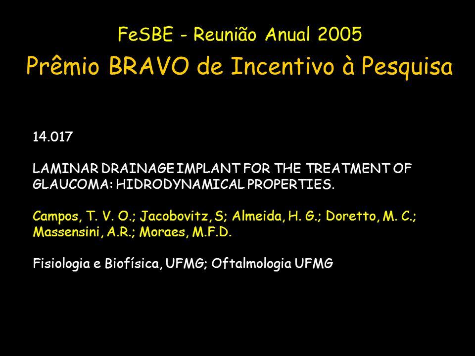 Prêmio BRAVO de Incentivo à Pesquisa