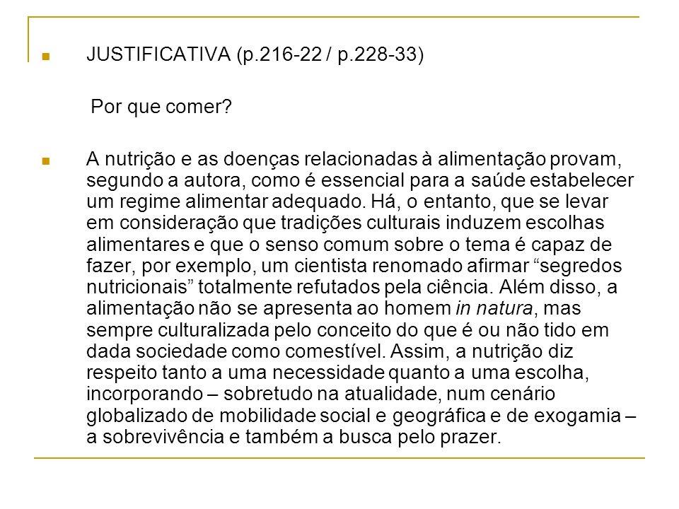 JUSTIFICATIVA (p.216-22 / p.228-33)