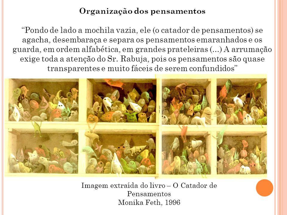Organização dos pensamentos