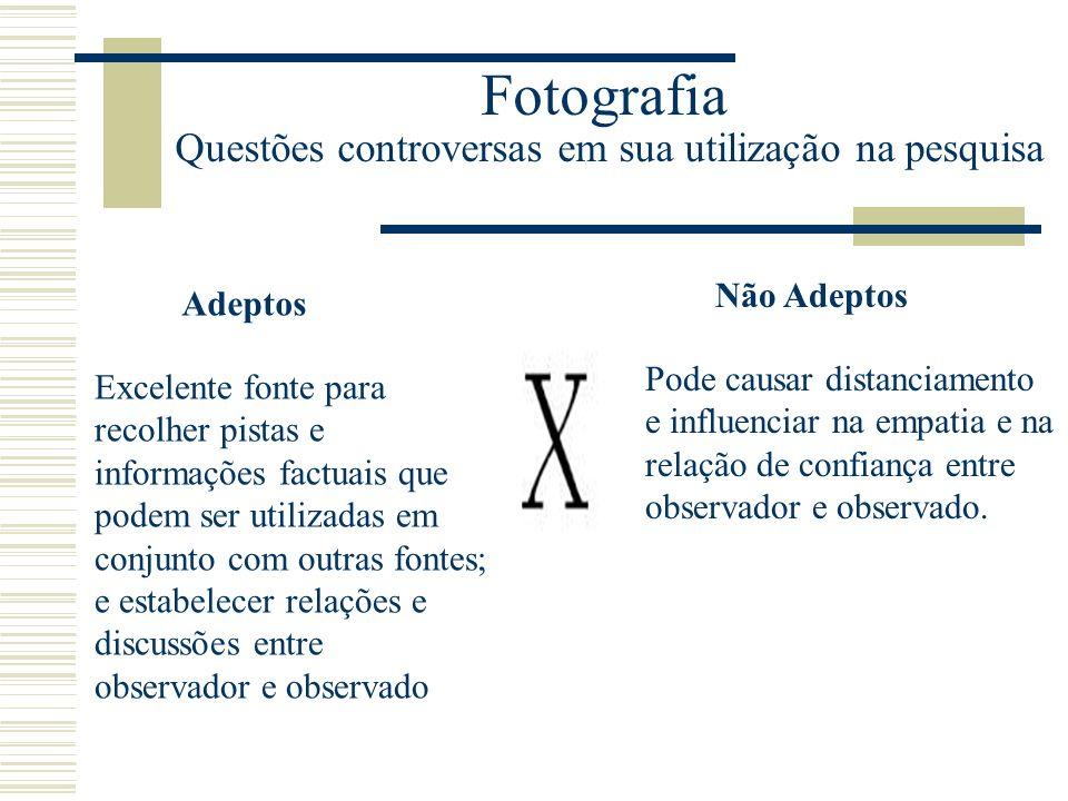 Fotografia Questões controversas em sua utilização na pesquisa