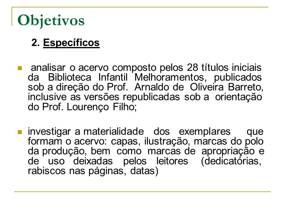Objetivos 2. Específicos