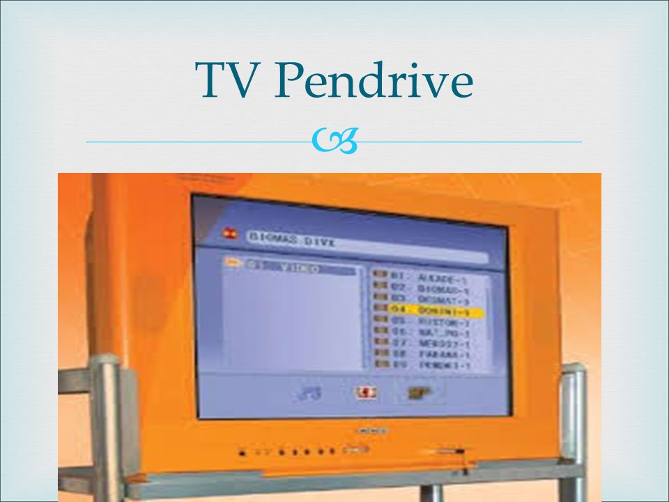 TV Pendrive