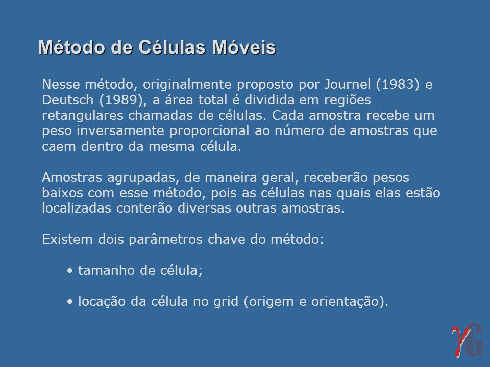 Método de Células Móveis