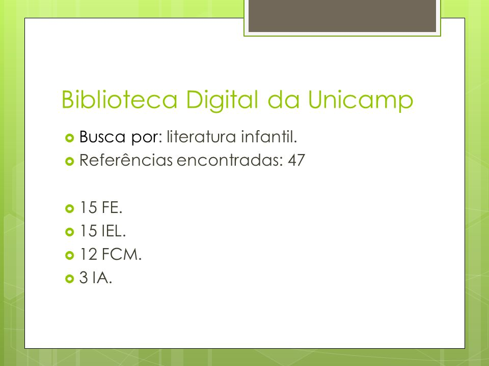 Biblioteca Digital da Unicamp