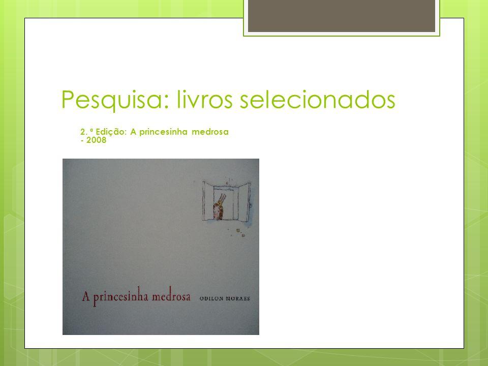 Pesquisa: livros selecionados
