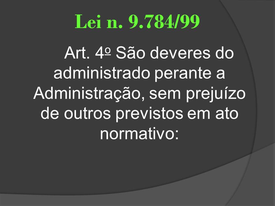 Lei n. 9.784/99 Art.