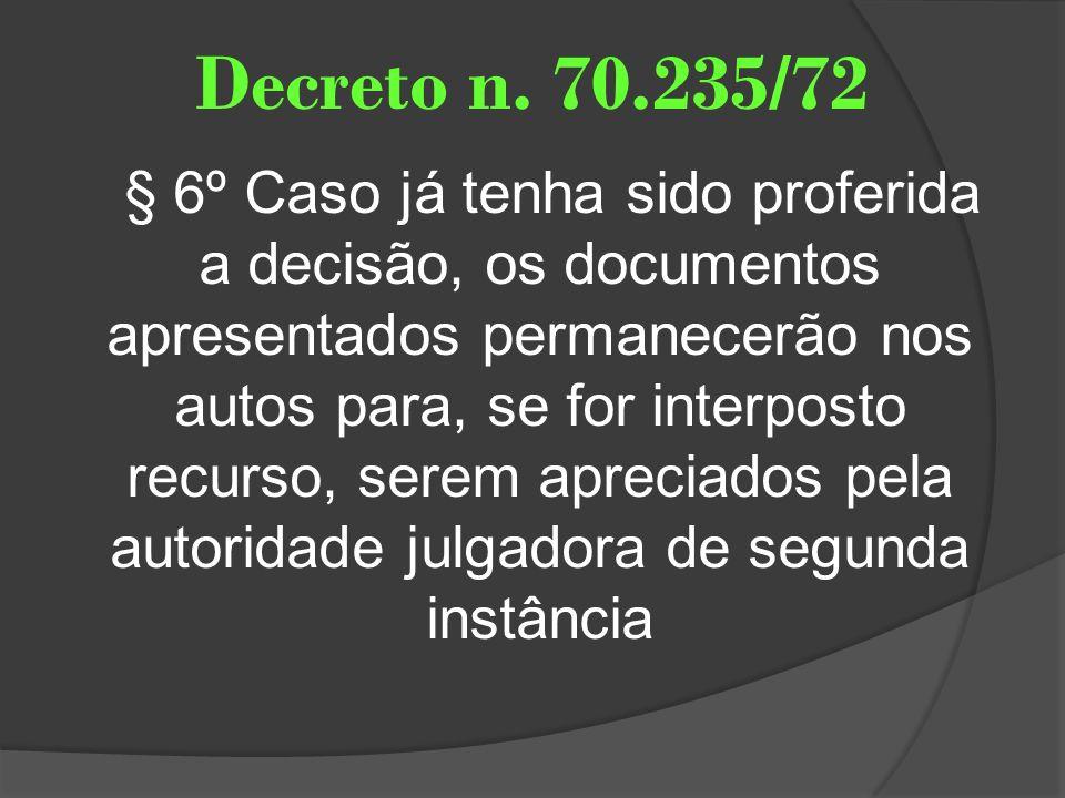 Decreto n. 70.235/72