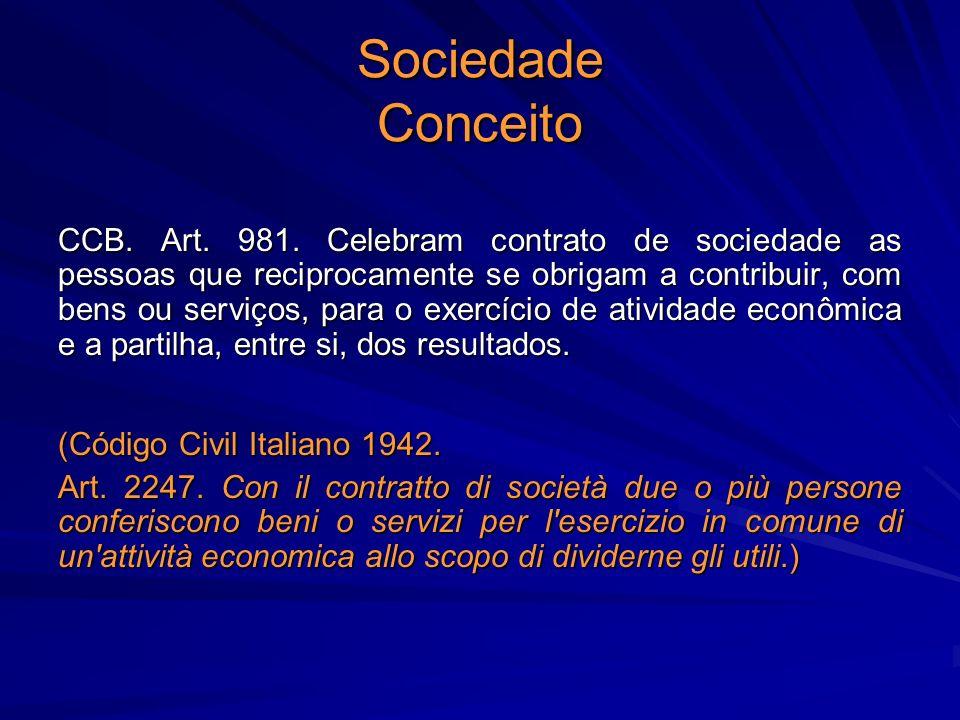 Sociedade Conceito