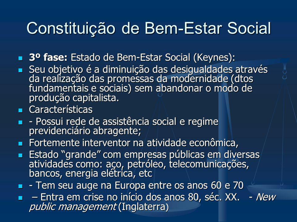 Constituição de Bem-Estar Social